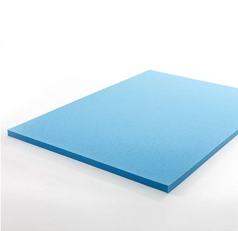 Gel-infused Memory Foam Topper
